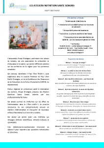 Descriptif Atelier Nutrition 2021
